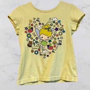 ✨3 for 28✨Tinker Bell Disney T Shirt size 5/6